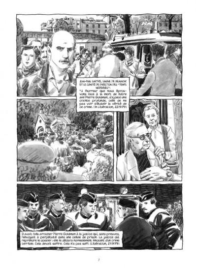 Page 5 Pierre Goldman ; la vie d'un autre