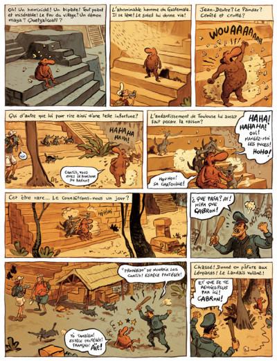 Page 4 le landais volant tome 3 - sketch sur le ketch