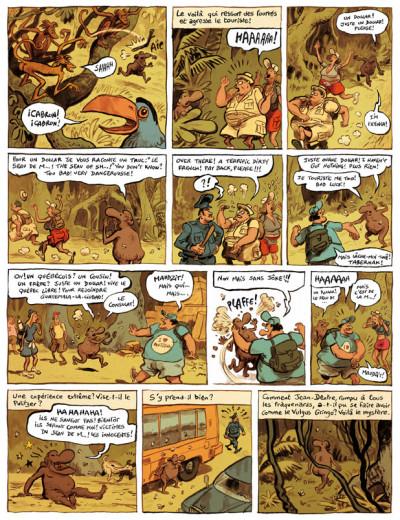 Page 5 le landais volant tome 3 - sketch sur le ketch