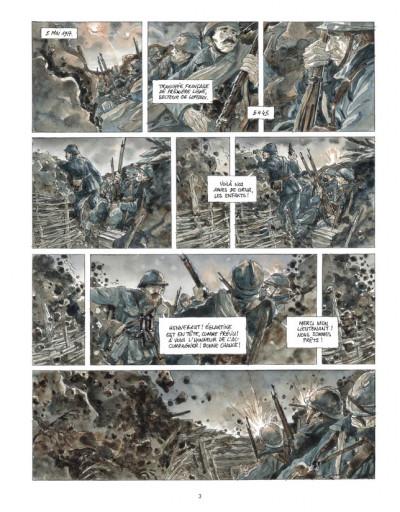 Page 1 Notre Mère la Guerre tome 3 - troisième complainte