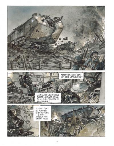Page 2 Notre Mère la Guerre tome 3 - troisième complainte