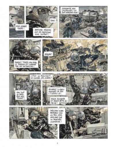 Page 3 Notre Mère la Guerre tome 3 - troisième complainte