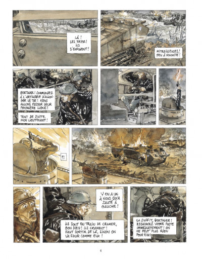 Page 4 Notre Mère la Guerre tome 3 - troisième complainte