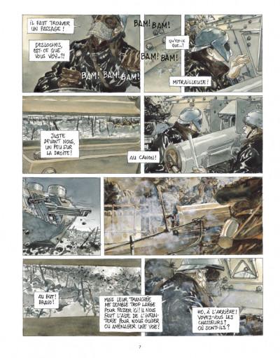 Page 5 Notre Mère la Guerre tome 3 - troisième complainte