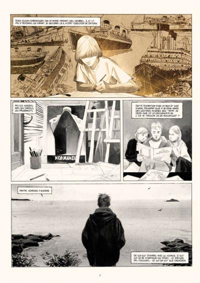 Page 5 voyage aux îles de la Désolation