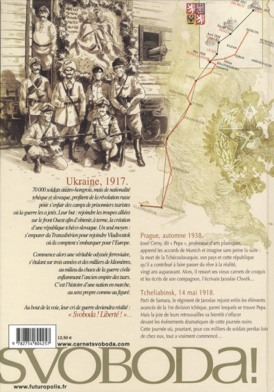 Dos Svoboda tome 1 - de Prague à Tcheliabinsk