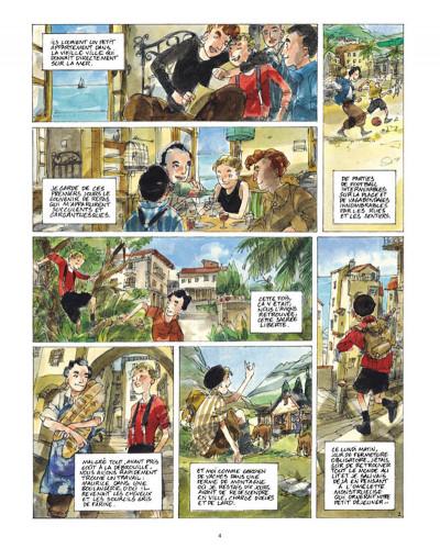 Page 2 un sac de billes tome 2