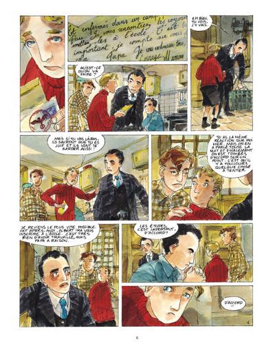 Page 4 un sac de billes tome 2