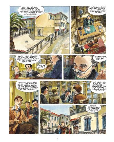 Page 5 un sac de billes tome 2