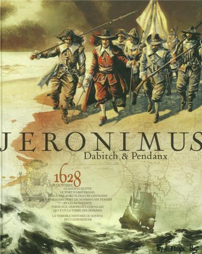 Couverture Jéronimus ; intégrale