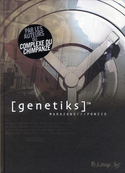 Couverture genetiks - intégrale tome 1 à tome 3
