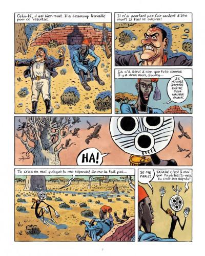 Page 3 la colonne tome 1 - un esprit blanc