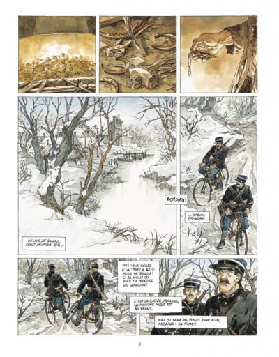 Page 1 notre Mère la guerre tome 4 - requiem
