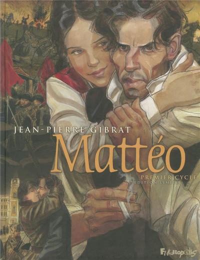 Couverture Mattéo - intégrale tome 1 - 1914-1935