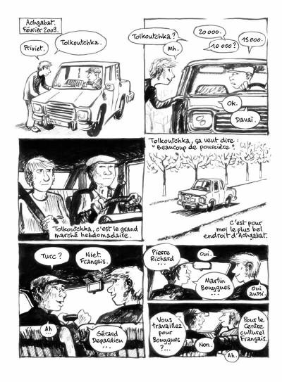 Page 6 Sables noirs - 20 semaines au Turkmenistan