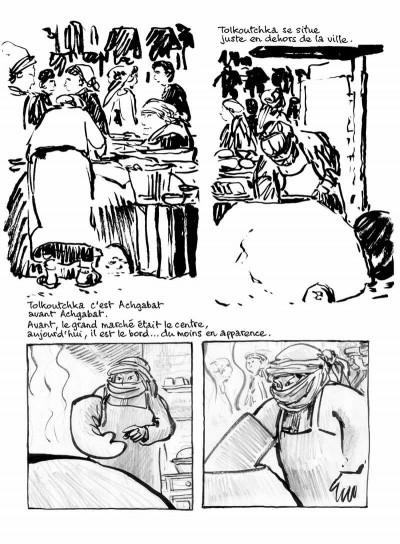 Page 7 Sables noirs - 20 semaines au Turkmenistan