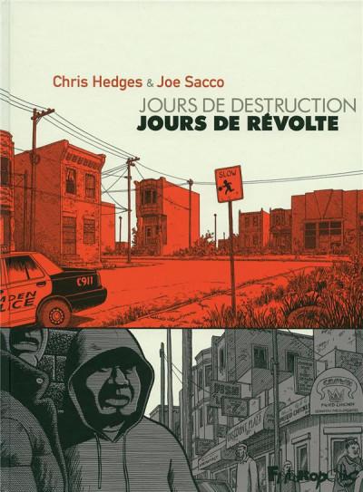 image de jours de destruction, jours de révolte