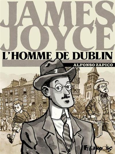 Couverture James Joyce ; l'homme de Dublin