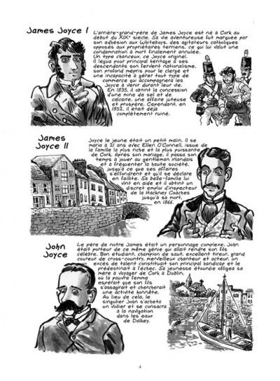 Page 2 James Joyce ; l'homme de Dublin