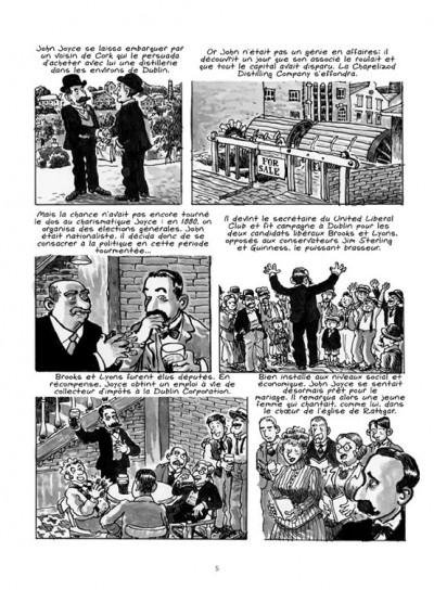 Page 3 James Joyce ; l'homme de Dublin