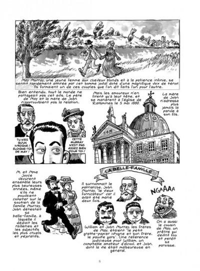 Page 4 James Joyce ; l'homme de Dublin