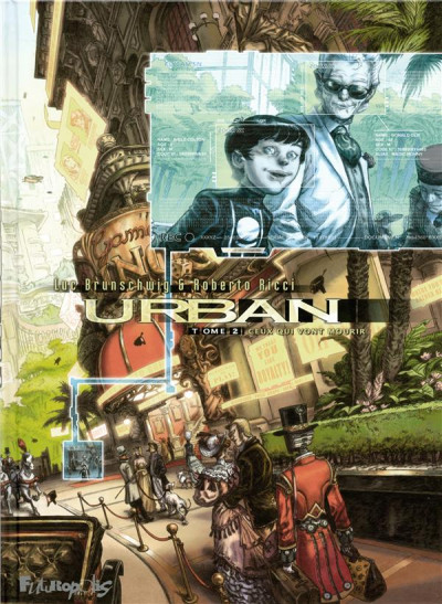 Couverture Urban tome 2