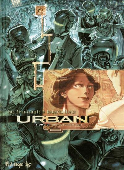 Couverture Urban tome 3