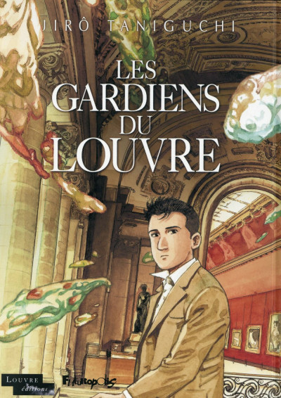 Couverture Les Gardiens du Louvre