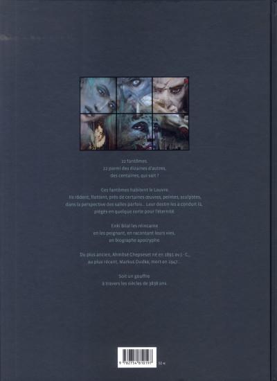 Dos les fantômes du Louvre (édition grand format)