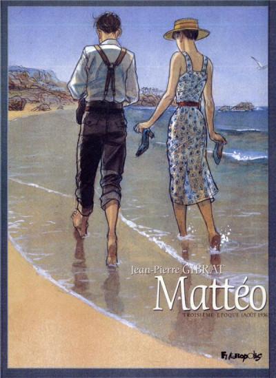 image de Tirage de tête - Mattéo tome 3 - troisième époque (août 1936)