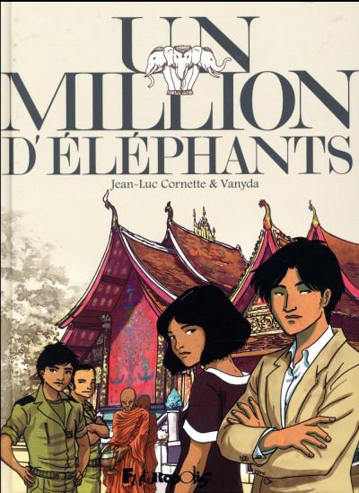 Couverture Un million d'éléphants