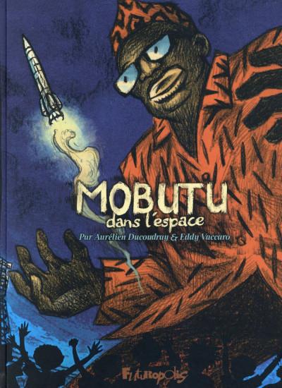 Couverture Mobutu dans l'espace