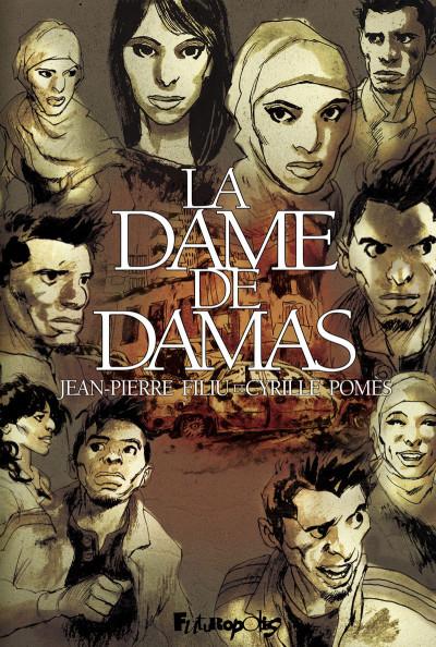 Couverture La dame de Damas