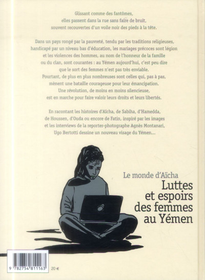 Dos Le Monde d'Aïcha - Luttes et espoirs des femmes au Yémen