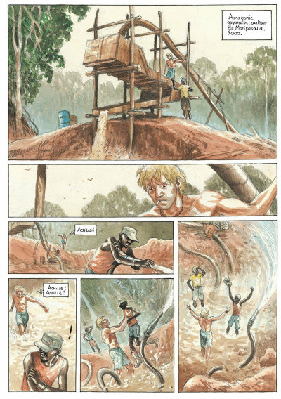 Page 2 L'or tome 2