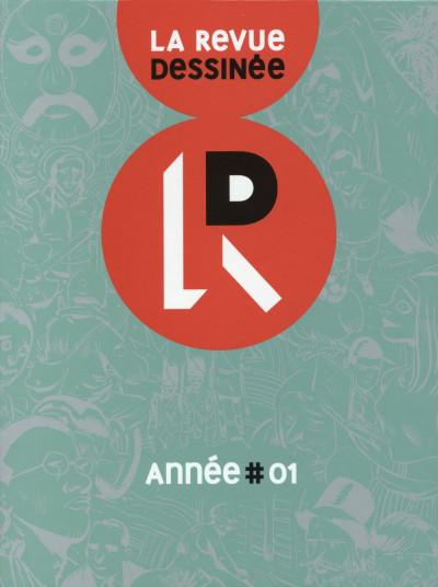 Couverture La Revue dessinée - coffret année 1 (tomes 1 à 4)