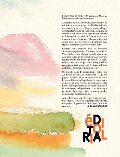 Page 4 La revue dessinée tome 9
