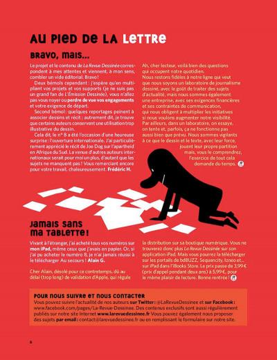 Page 5 La revue dessinée tome 9
