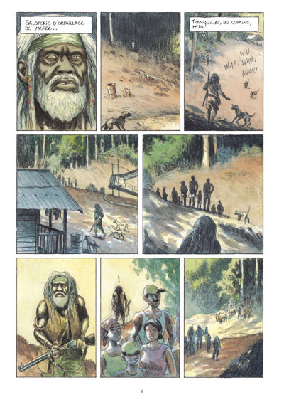 Page 4 L'or tome 3
