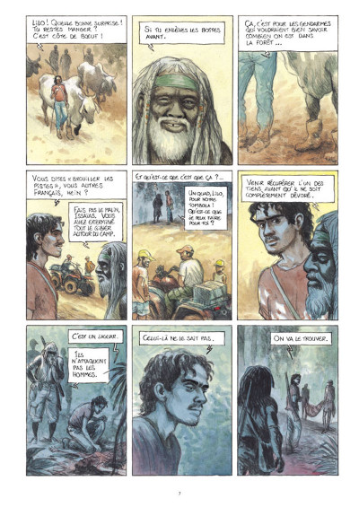 Page 5 L'or tome 3