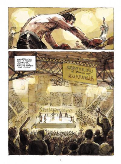 Page 1 Mon père était boxeur + DVD