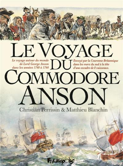 Couverture Voyage du commodore Anson