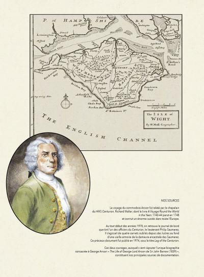 Page 5 Voyage du commodore Anson