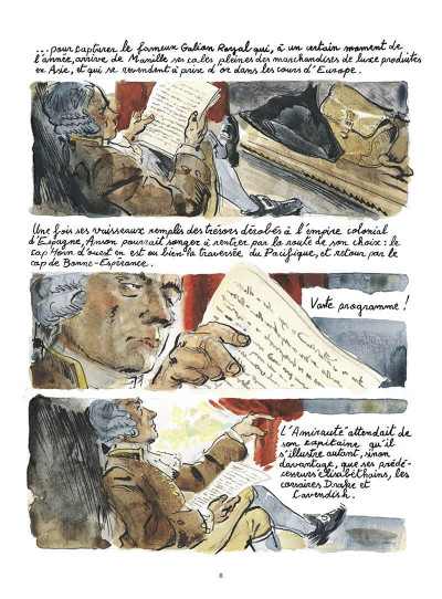 Page 9 Voyage du commodore Anson