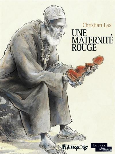 Couverture Une maternité rouge + ex-libris offert