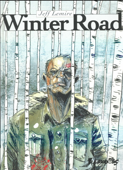 Couverture Winter road