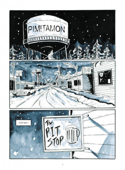 Page 1 Winter road