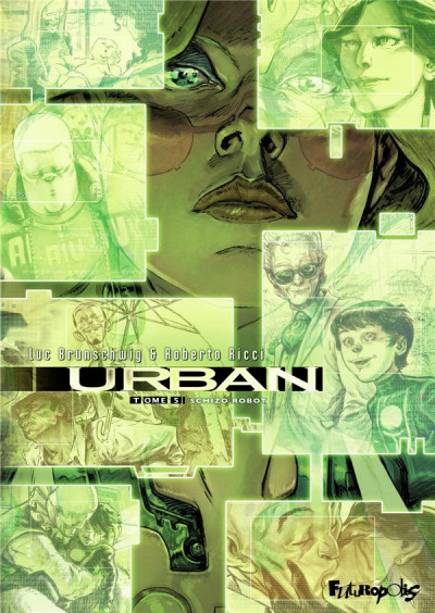 Couverture Urban tome 5 + ex-libris offert