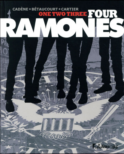 Couverture One two three four Ramones !