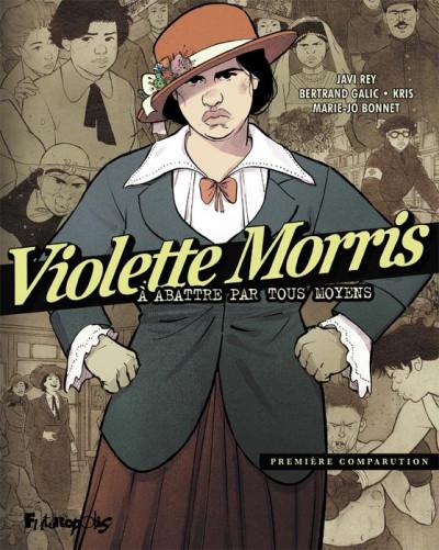 Couverture Violette Morris tome 1